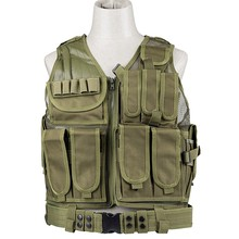 2017 Police Tactical Vest Outdoor Camouflage Military Body Armor Sports Wear Hunting Vest Army Swat Molle Vest(China)