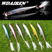 1Pcs Sinking Fishing Lure 10cm 12.5g Propeller Pencil Artifi