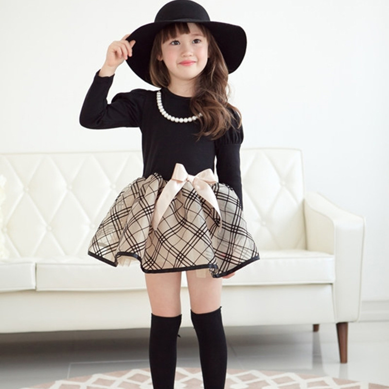 Girls High Boots Kids Over Knee Bow Party Princess Cute Dress Boots