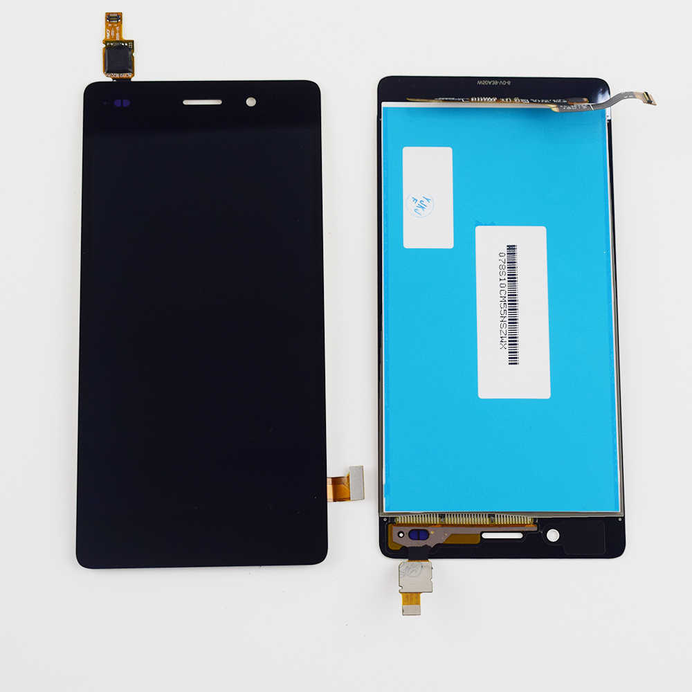 For Huawei P8 Lite ALE L04 L21 LCD Display Monitor Screen Panel Module +  Touch Screen Digitizer Sensor Glass Assembly Frame