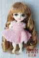 JD153 Lati yellow size Hot dog roll BJD wigs 5-6inch Synthetic mohair doll wigs