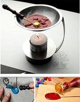 Adjustable Fire Height Wax Warmer Melts Heater Wax Sticks Beads Melting Glue Furnace Tool Stove Pot
