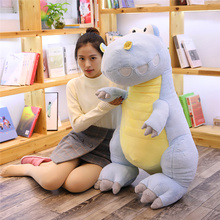 Giant Toys Dinosaur Plush Toy Creative Tyrannosaurus Rex Stuffed Doll Pillow Plush Dolls for Children Soft Animals