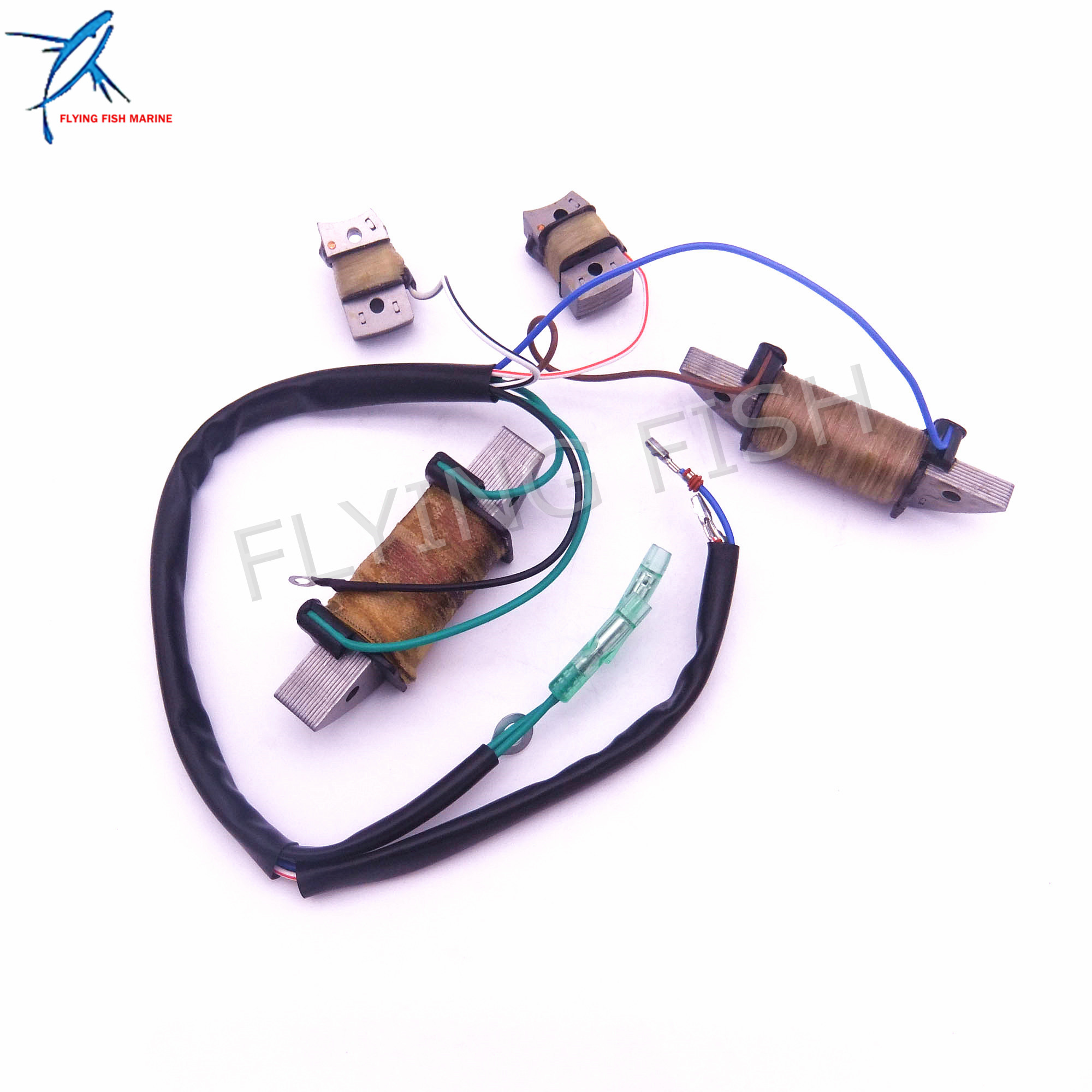 Outboard Engine T36-04041000 Power Supply Coil Assy for Parsun 2-Stroke T36 T40J Boat Motor Free Shipping