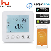 Smart Wifi Thermostat Electric Floor Heating Thermostat for Warm Floor Heating Units Programmable Temperature Controller купить недорого в Москве