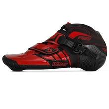 100% Originale Bont Z 2PT Velocità di Boot Da Skate Inline Heatmoldable In Fibra di Carbonio Fodera Competizione Da Corsa Pattinaggio di Avvio Scarpe Patines