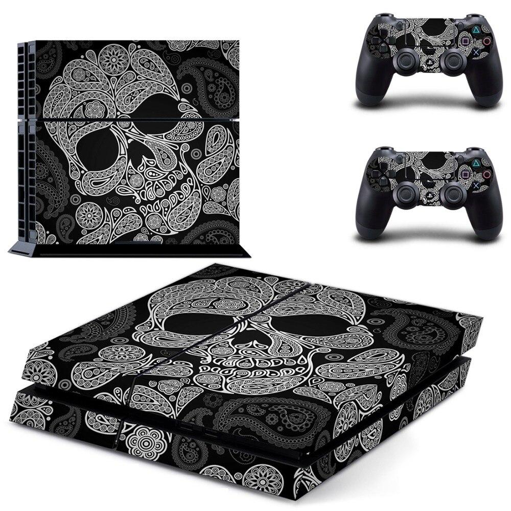 Pele Decalque de Vinil para Playstation Console