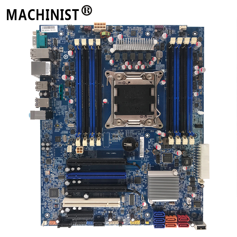 For Lenovo ThinkStation S30 <font><b>C602</b></font> X79 workstation desktop motherboard LGA 2011 ECC REG DDR3 03T6734 Free shipping fully Tested image