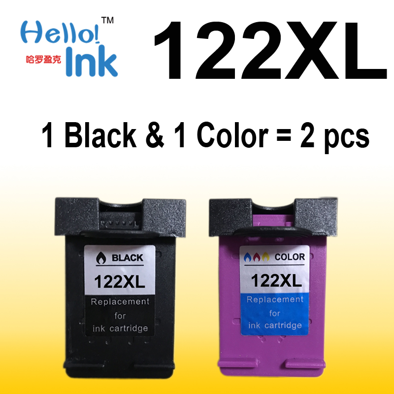for HP122 HP 122 122XL HP122XL Color Ink Cartridge set CH563WN 564 for HP Deskjet 1000