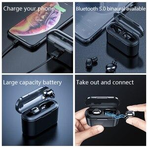 Image 5 - KSUN BT 01 TWS 5.0 auricolare Bluetooth 3D stereo auricolare senza fili con doppio microfono