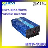 Чистая синусоида Инвертор hyp 1000 Вход: 12/24 В Micro Инвертор 50/60 Гц высокая эффективность Мощность инвертор плавного пуска