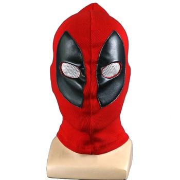 Deadpool Wade Winston Wilson Superhero Cosplay Yüz Maskeleri Tam