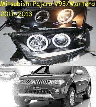 HID,2011~2013,Montero,V93,Car Styling,Pajero Headlight,Endeavor,ASX,3000GT,Expo,Eclipse,verada,pajero,Triton,Pajero head lamp
