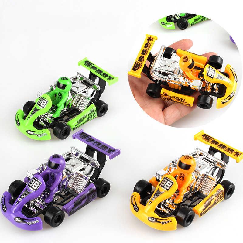 Mainan Bayi Lucu Plastik Tarik Kembali Mobil Mobil Mainan untuk Anak Roda Mobil Mini Model Lucu Anak-anak Mainan untuk Anak Laki-laki