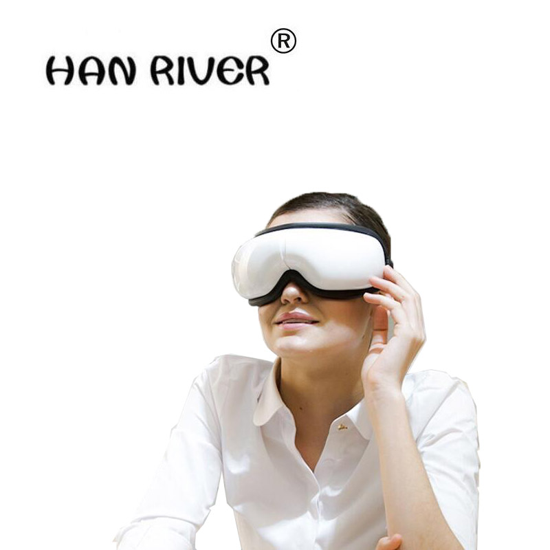 HANRIVER 2018 Eye eye massage instrument meter wireless hot compress eye eye massage instrument цена 2017