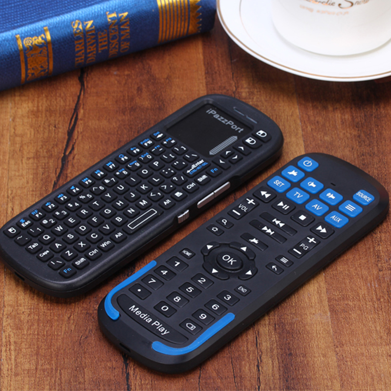 mini handled multi media keyboard 2 4g wireless keyboard with touchpad and scroll bar hot. Black Bedroom Furniture Sets. Home Design Ideas