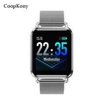 Смарт-часы Coopkony, водонепроницаемые, динамические, кровяное давление, шагомер, фитнес-трекер, пульсометр, мужские умные часы, спортивные часы