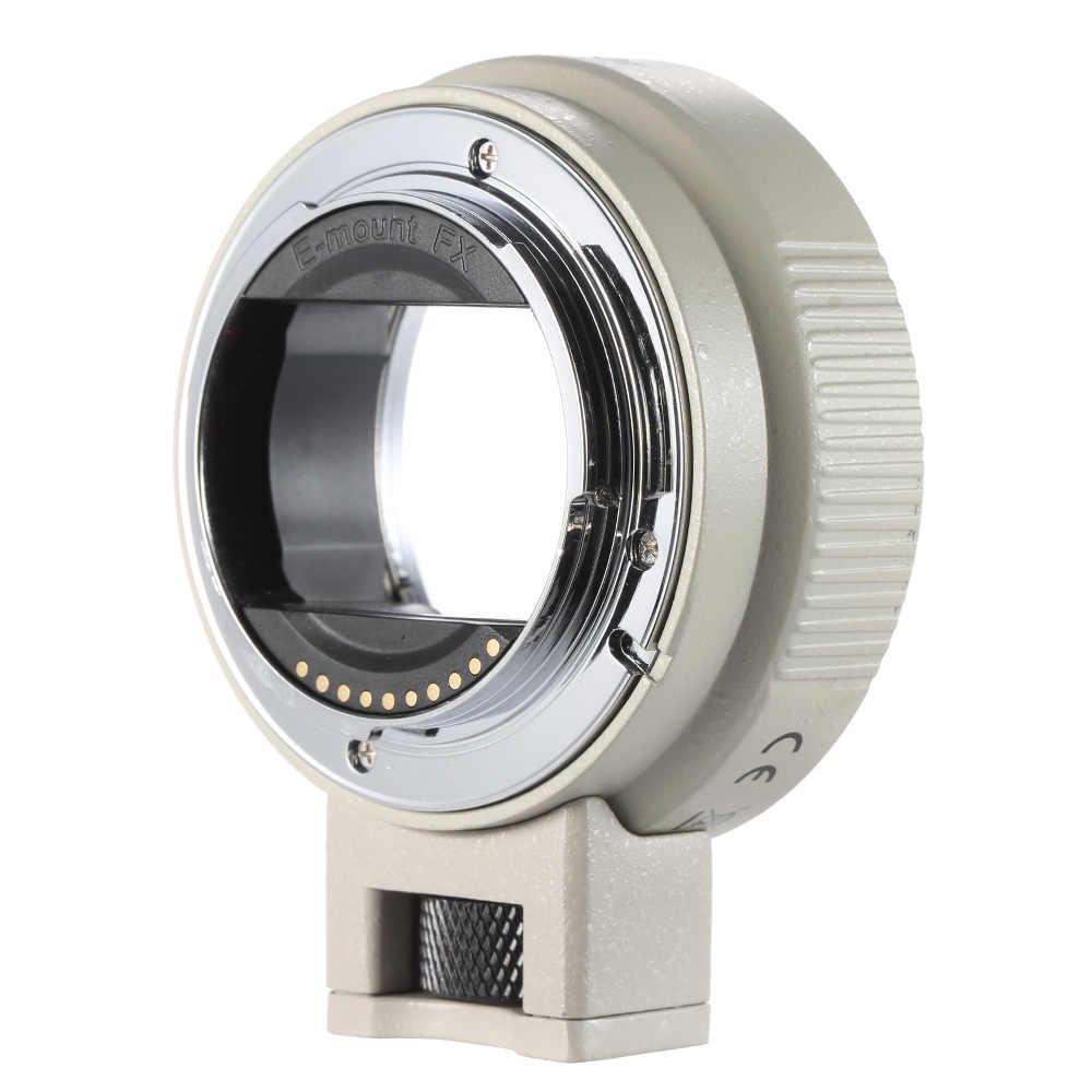 Andoer otomatik odaklama AF EF-NEXII canon için Lens adaptör halkası EF EF-S Lens için Sony NEX E montaj kamera tam çerçeve A7 /A7R