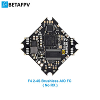 BETAFPV F4 2 4S AIO Brushless Flight Controller No RX BLHELI_S 12A ESC OSD Smart Audio with XT30 Cable for Beta85X Beta75 Pro 2