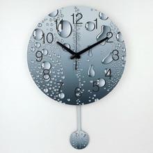 wholesale designer wall clock modern home decoration 3d wall decor clcoks living room decor silent wall clock fashion wall watch