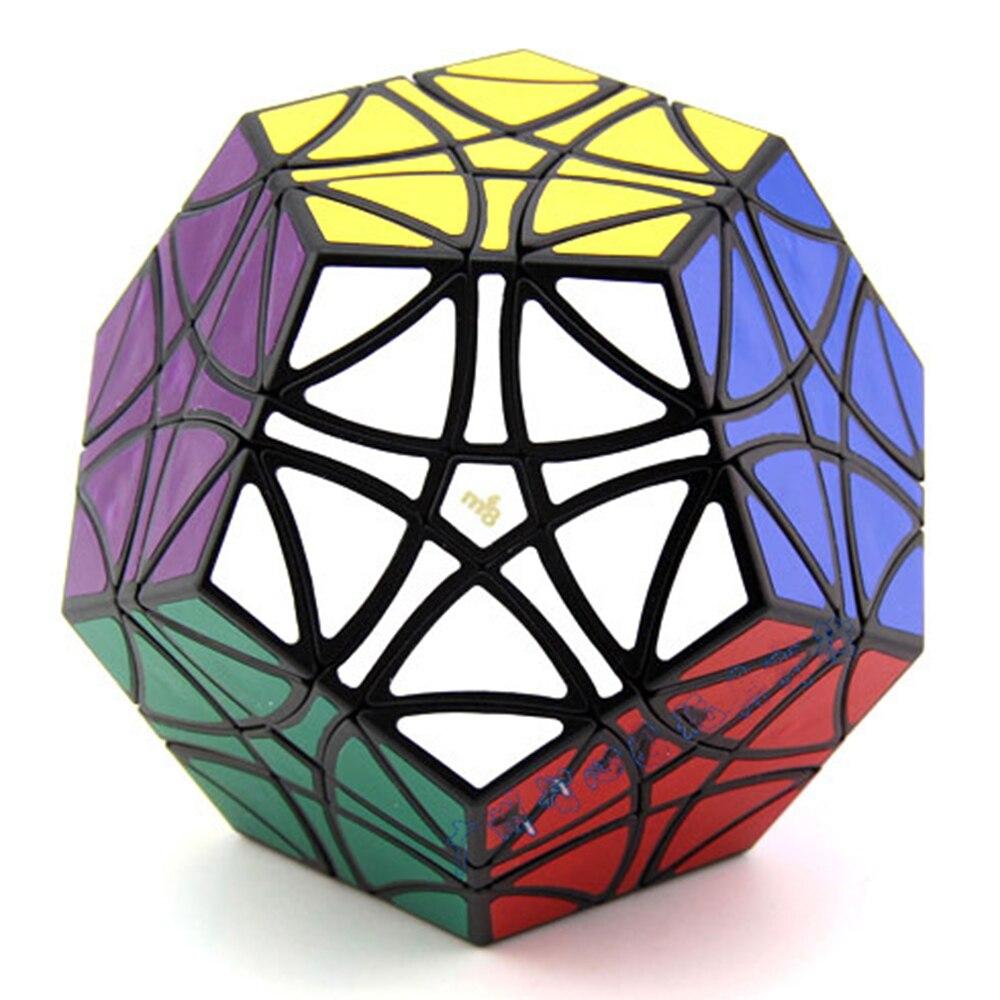 MF8 hélicoptère terminx Dodecahedron Cubes magiques noirs Puzzle vitesse Cube jouets éducatifs cadeaux pour enfants enfants