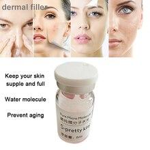 Pure Micro Молекулярная вода для губ для лица для распылителя Ручка для инъекций губ гиалуроновый