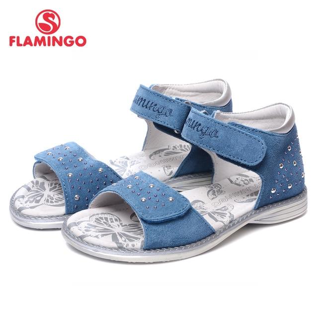 Фламинго известные бренды 2018 Новое поступление весна и лето Дети Мода Высокое качество сандалии для девочек qs5726-1