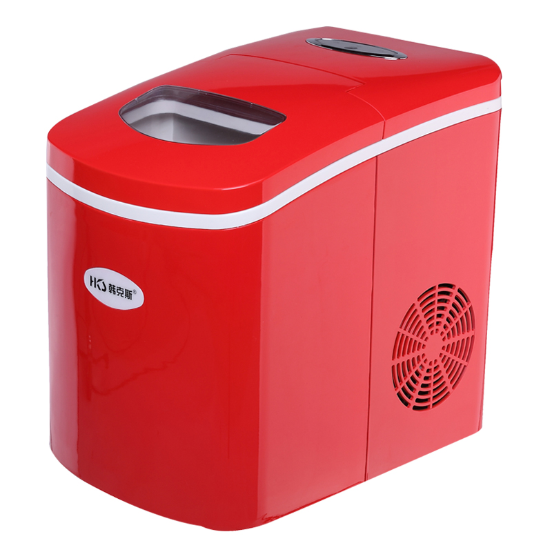 2016 Rushed Maquina De Hielo Ice Tray 220v Sphere Ice Maker Machine For Commercial Home Use Cube 18kg/24h Producion Fashion Red  цены