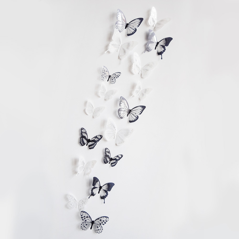 18pcs/lot 3d Effect Crystal Butterflies Wall Sticker Beautiful Butterfly for Kids Room Wall Decals Home Decoration On the Wall HTB1RijJB1uSBuNjSsplq6ze8pXa1