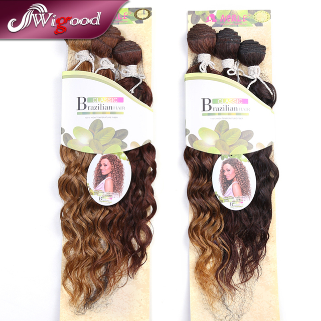 Noble Synthetic Hair Weaves Classic Tonya Curl 3pcs Brazilian Hair