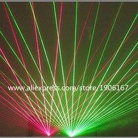 Czerwone Zielone Światło Laserowe Danceing Laserman Okulary Z Akumulatorem Dla Laser Show Event Party Supplies