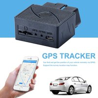 Mini OBD Car Real time GPS Tracker GSM Vehicle Tracking Device Burglar Alarm Anti theft Device GSM/GPRS