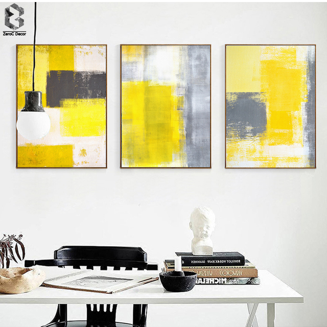 Modern Abstract Art Wall Poster and Print Canvas Paintings for ...