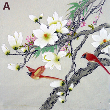 Diy Diamond embroidery flower painting sale 3d Square mosaic full Chinese Plum blossom peony