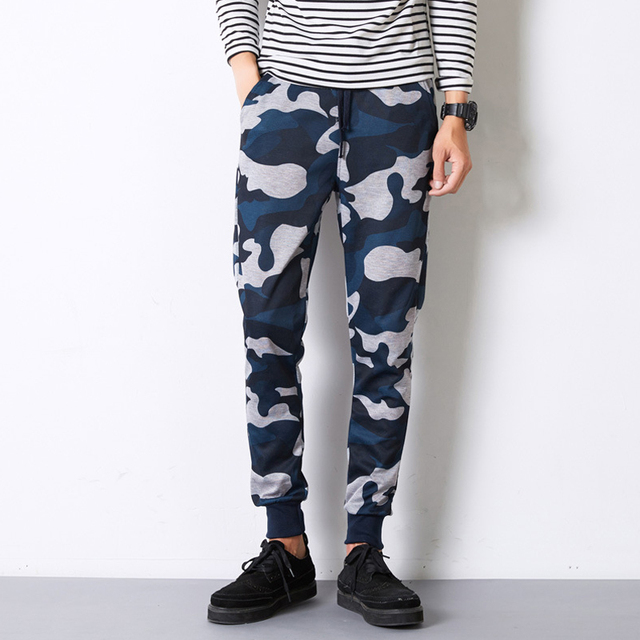 Militar Camuflaje Hip Hop Sweat Pants Pantalones Harem Danza Baggy Trousers Ejército Otoño Hombre Pantalones Hombre Pantalones Pantalones Joggers Basculador