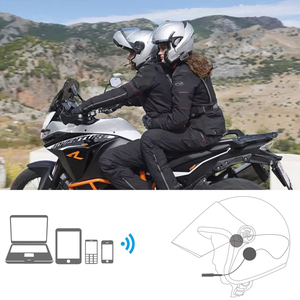 Image 4 - Helmet bluetooth headset Wireless helmet headset For Walkie Talkie Walkie talkie Bluetooth adapter HB 6A HB 6B  Mobile phone