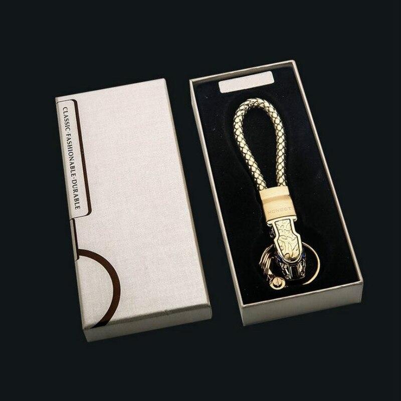 1 Stücke Silber Ton Schlüsselanhänger & Schlüsselringe Leopard kopf metall Keychain Zubehör Männer Geschenke Für Mercedes Audi VW Golf Kia Toyota