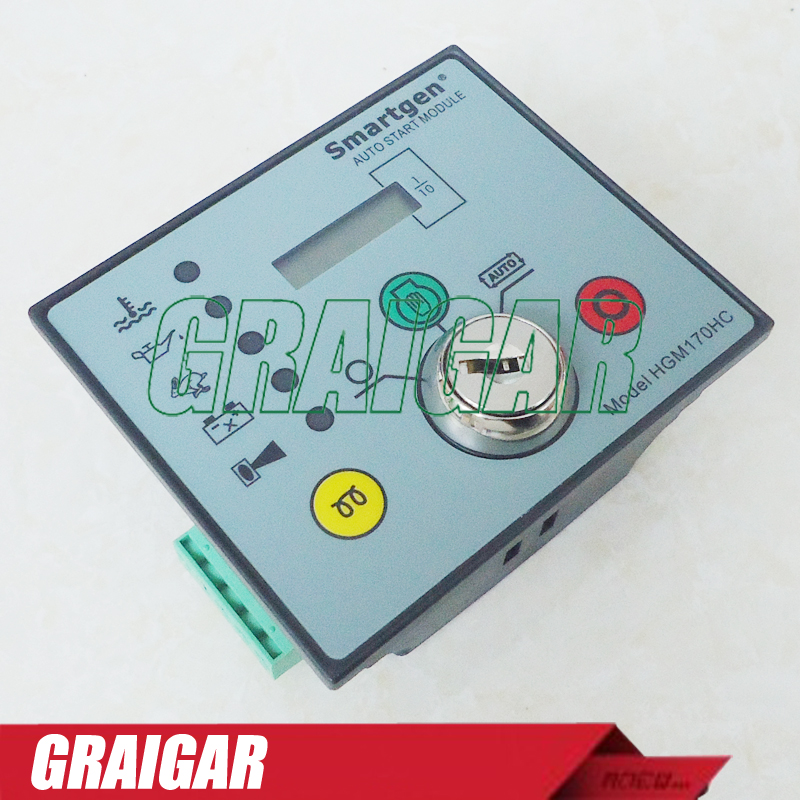 New Smartgen HGM170HC Generator Controller Automatic Engine Control Module gensets ats controller hat600 generator control module for smartgen
