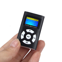 USB Mini MP3 Player LCD Screen Support 32GB Micro SD TF Card Slick stylish design Sport Compact