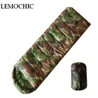 High Quality Hiking Cycling Camp Camouflage Military Tactical Waterproof Army Emergency Camping Portable Compact Sleeping Bag