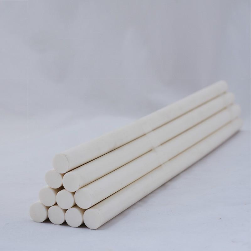 50 pièces blanc haute température thermofusible colle bâton colle de 11mm non toxique protection de l'environnement adapté à haute température - 3