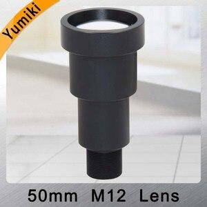"Image 1 - Yumiki CCTV lens 50mm M12*0.5 7degree 1/3"" F1.2 CCTV MTV Board Lens For Security CCTV Camera"