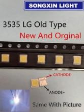 100PCS FOR LCD TV repair LG led TV backlight strip lights with light emitting diode 3535 SMD LED 3535 2W 6V 150LM Old Type