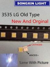 Için 50 adet LCD TV onarım LG led TV arkaplan ışığı şerit ışıkları ışık yayan diyot 3535 SMD LED 3535 2W 6V 150LM eski tip