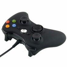 Бесплатная Доставка Новый Проводной USB Game Pad Контроллер Для Microsoft Xbox 360 ШТ. Windows