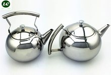 Inox Teapot with Filter mini Stainless steel Teapot tea Coffee pot hold cold water Leisure use(China)