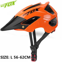 BATFOX Bicycle Helmet Ultralight Cycling Helmet Casco Ciclismo Integrally molded Bike Helmet Road Mountain MTB Helmet Casque
