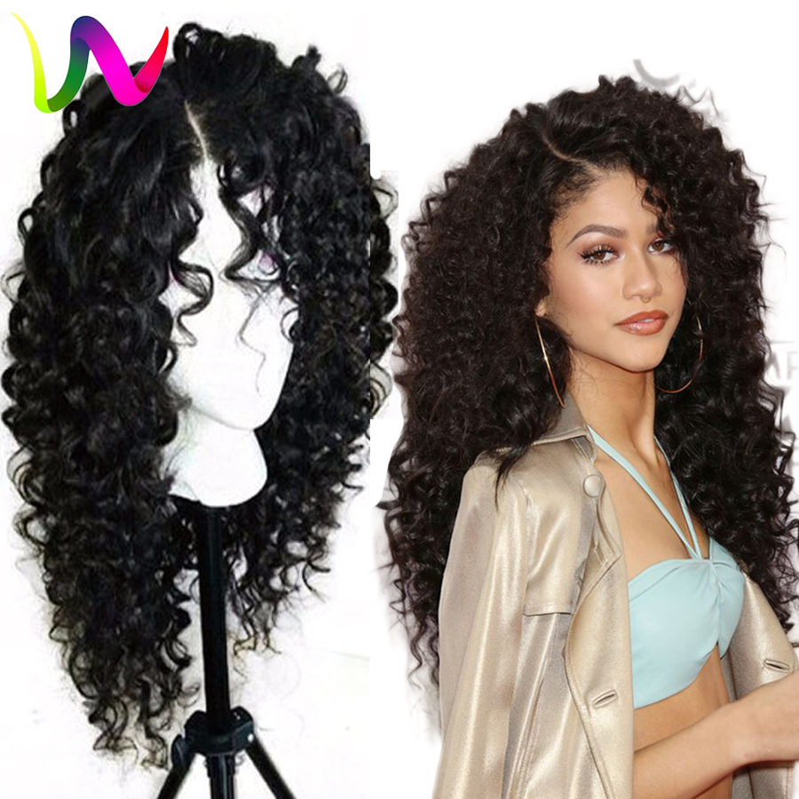 Synthetic Lace Front Wigs For Black Women Full Density