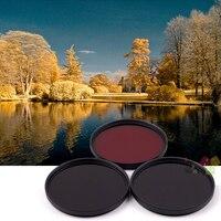 52mm 630nm+720nm+760nm Infrared IR Optical Grade Filter for Canon Nikon Fuji Pentax Sony Camera Lenses