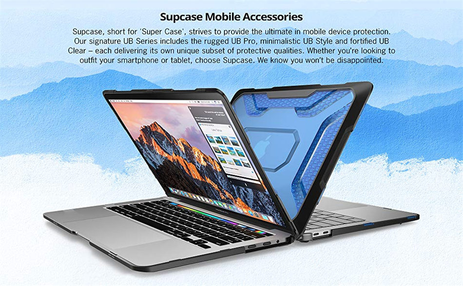 For MacBook Pro 13 Case (2019 2018 2017 2016) A2159/A1989/A1706/A1708 with Retina Display With or W/O Touch Bar TPU Bumper Case